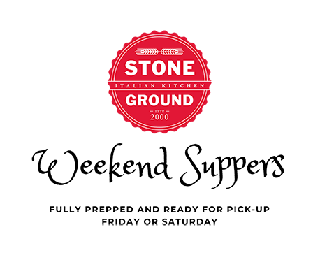 Stoneground Suppers Updated